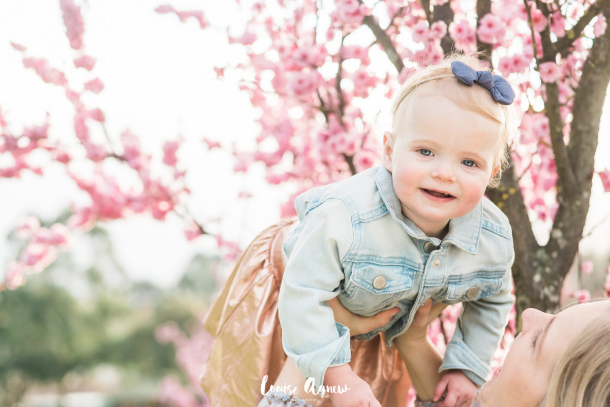 Louise Agnew Photography Family Blossoms first birthday one